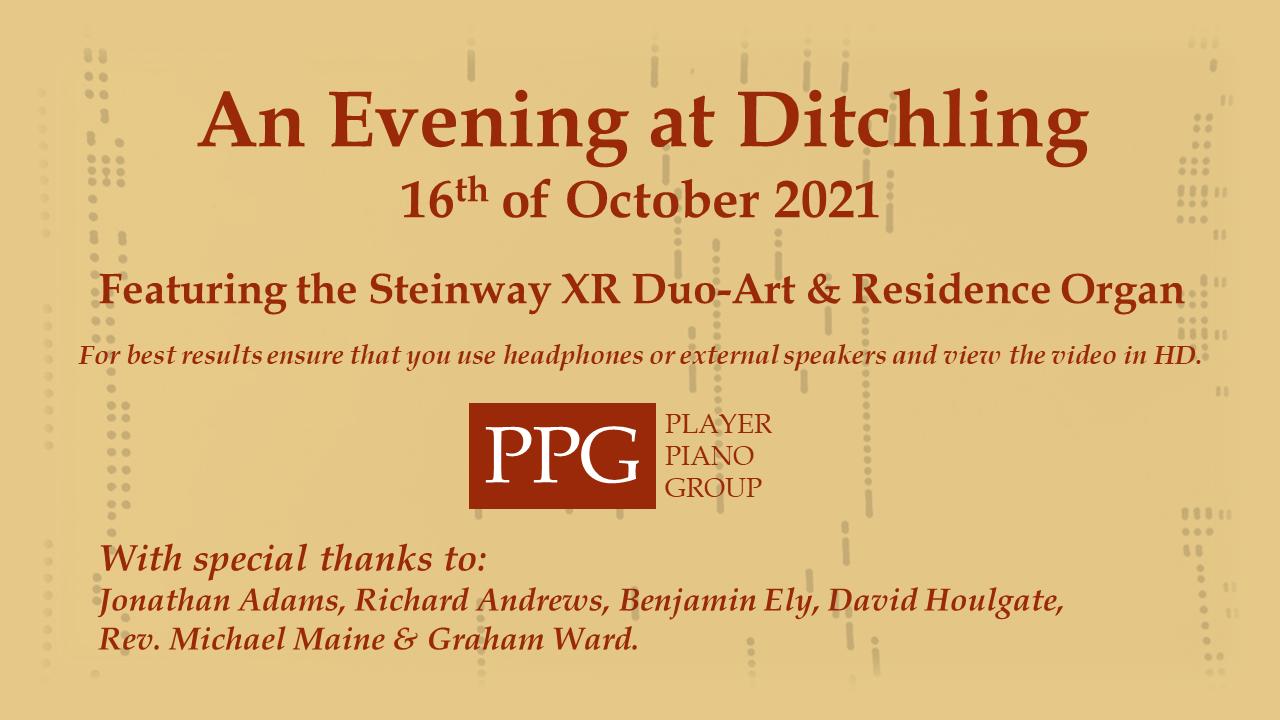 An Evening at Ditchling 16/10/21